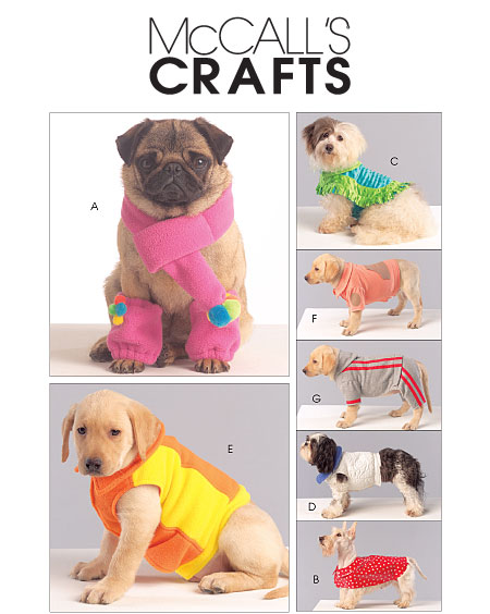 McCall's Dog coats, scarf and legwarmer 5776