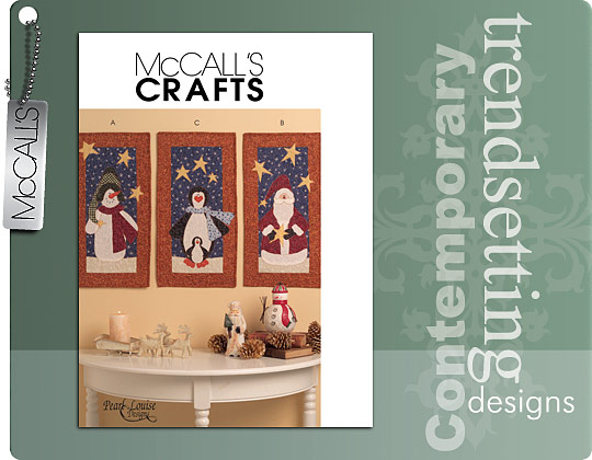 McCall's Set of 3 Mini Quilts 5781