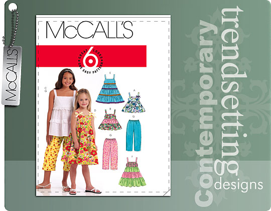 McCall's summer outfits 5796
