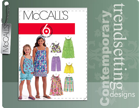 McCall's Tops Dresses Shorts Pants 5797