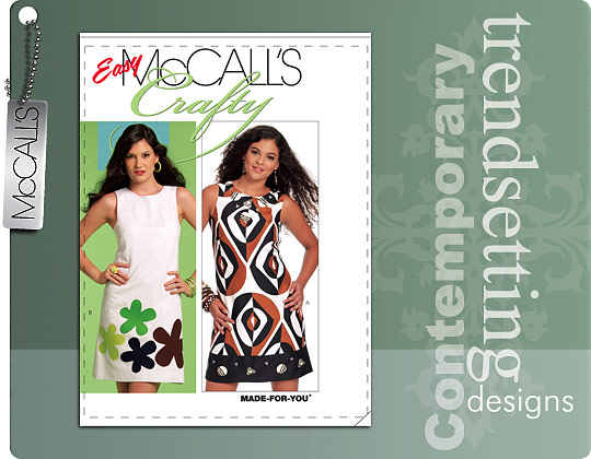 McCall's shift dress 5799