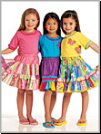 McCalls 5841 Pattern ( Size 6-7-8 )