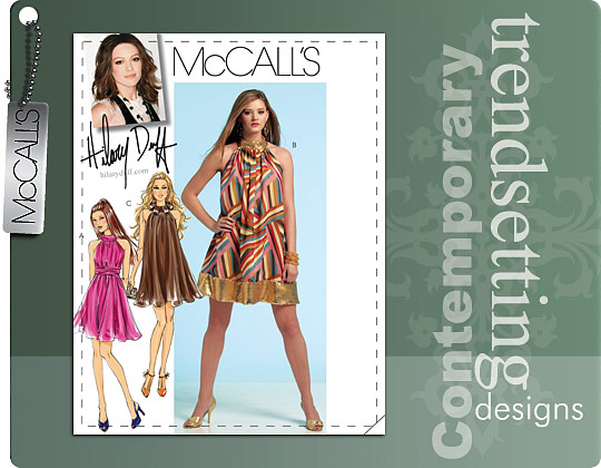 McCall's Hilary Duff Dress 5848