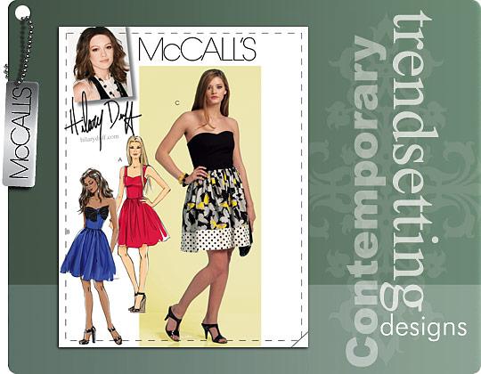 McCall's Hilary Duff 5849
