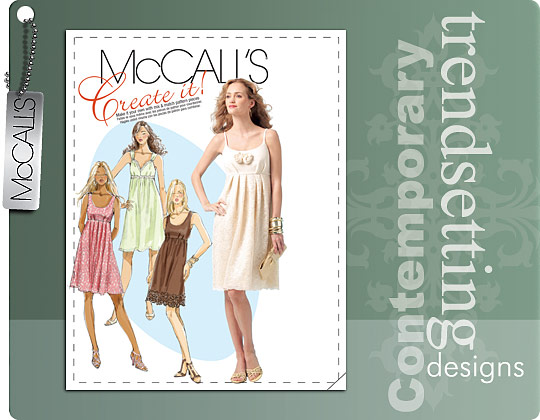 McCall's Pullover dress 5879