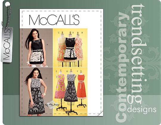 McCall's tunic, top, dress 5882