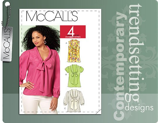McCall's Blouse 5884