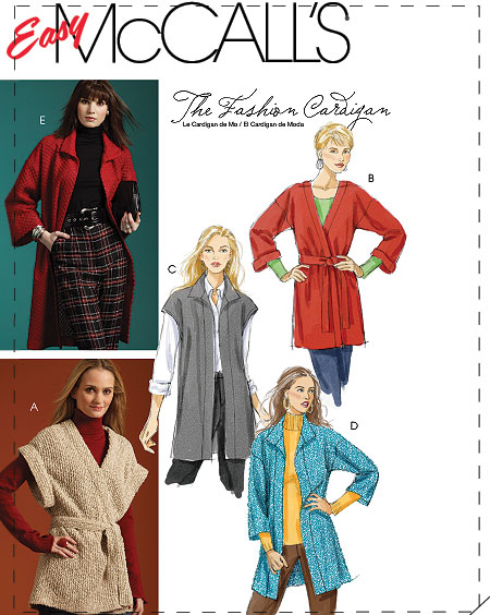 McCall's Cardigans 5932