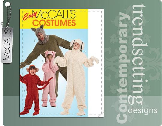 McCall's Costume- jumpsuit 5956