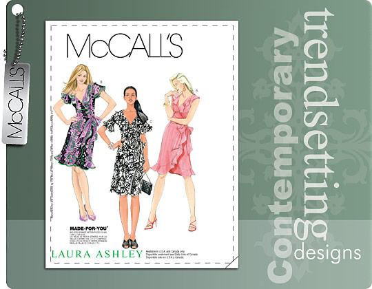 McCall's MISSES' DRESSES 6024