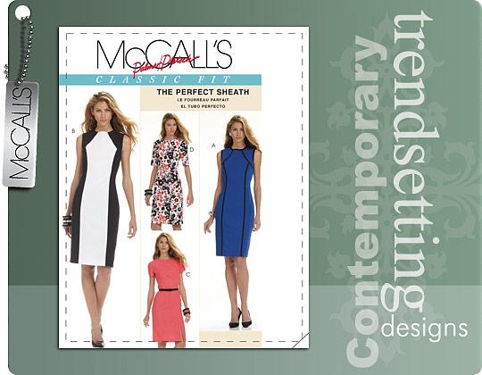 McCall's  MISSES' DRESSES 6028