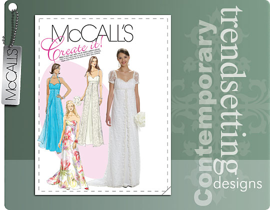 McCall's MISSES' LINED DRESSES 6030