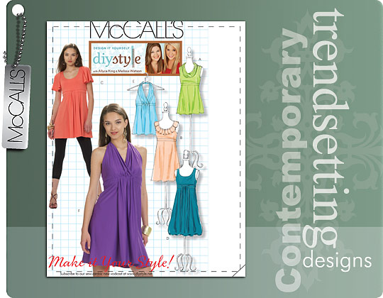 McCall's MISSES' TOPS, TUNICS AND DRESSES 6031