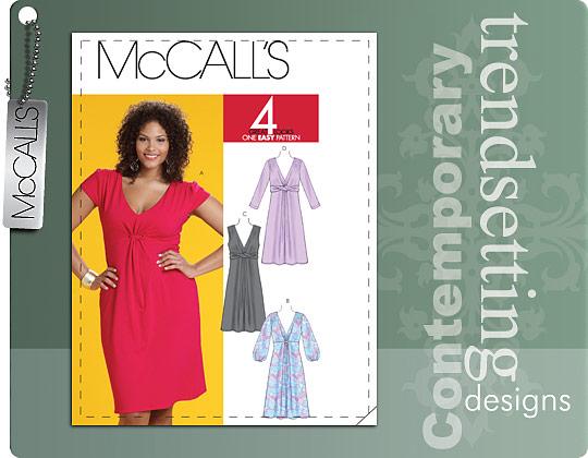McCall's MISSES'/WOMEN'S DRESSES 6032