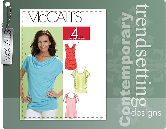 McCall's MISSES' TUNICS 6034