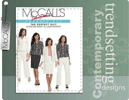 McCall's MISSES' LINED JACKETS, SKIRT AND PANTS 6042