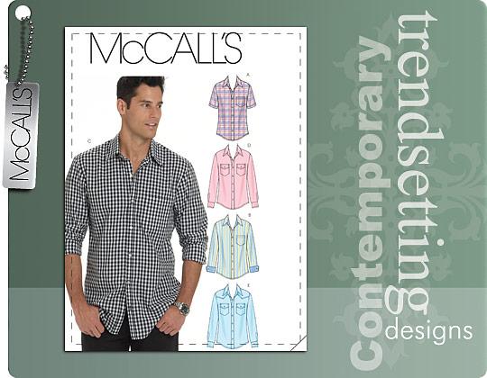McCall's MEN'S SHIRTS 6044