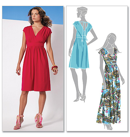 McCall's Misses' Dress In 2 Lengths 6070