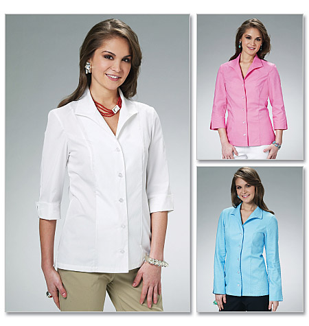 McCall's Misses' Shirts 6076