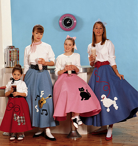 McCall's Children's/Girls'/Misses' Pull-On Skirt and Petticoat 6101