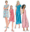 McCalls 6102 Pattern ( Size 8-10-12 )