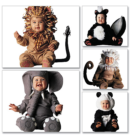 McCall's Toddlers' Costumes 6105