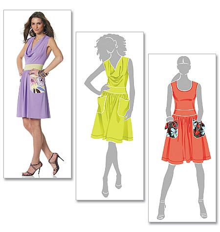 McCall's Misses' Dresses 6109