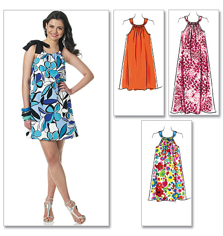 McCall's Misses' Dresses In 3 Lengths 6115
