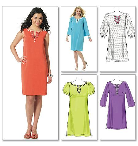 McCall's Misses'/Miss Petite/Women's/Women's Petite Dresses 6117