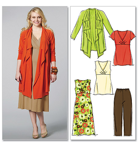 McCall's Women's Jacket, Tunics, Dress and Pants 6127