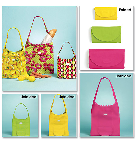McCall's Shopping Bag In 3 Sizes 6130