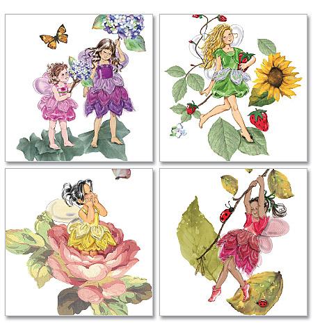 McCall's Children's/Girls' Fairy Costumes 6138