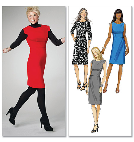 McCall's Misses' Dresses in 2 Lengths 6162