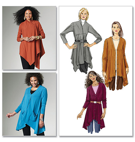 McCall's Misses'/Women's Cardigans 6168
