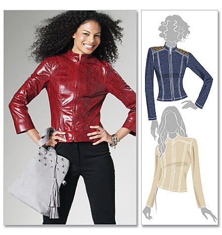 Leather Jacket Pattern Online Clothing Stores