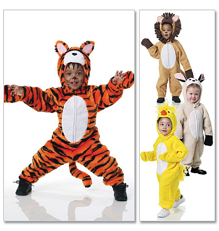 McCall's Infants'/Toddlers' Animal Costumes 6181