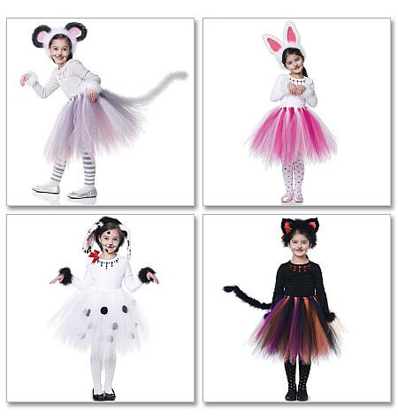 McCall's Children's/Girls' Costumes 6182