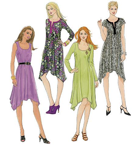 McCall's Misses' Dresses 6199