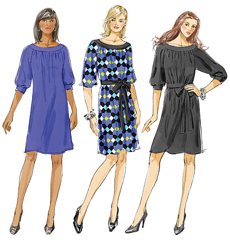 McCall's Misses'/Women's Dresses and Belt 6200