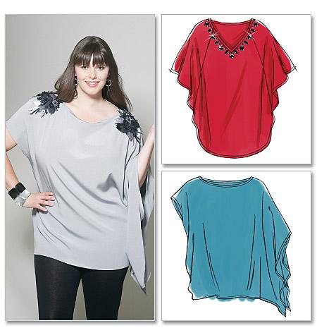 McCall's Misses'/Women's Tunics 6204