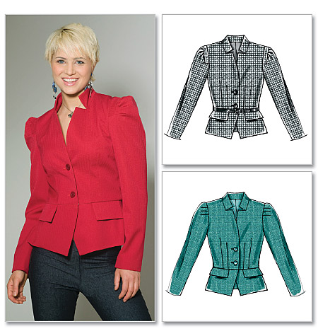 McCall's Misses'/Miss Petite Lined Jackets 6206