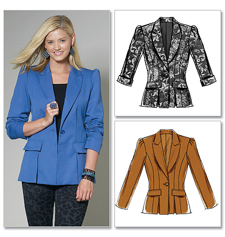 McCall's Misses'/Miss Petite Lined Jackets 6207