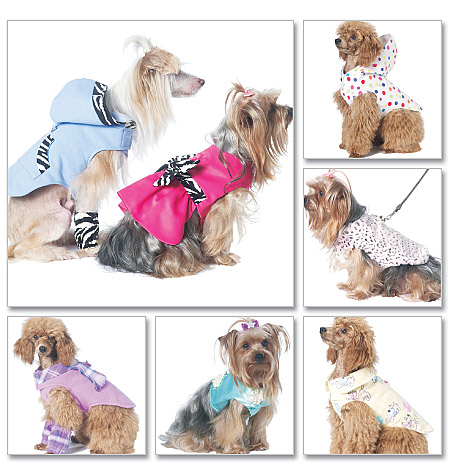 McCall's Pet Clothes 6218