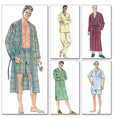 McCall's Men's Sleepwear 6231