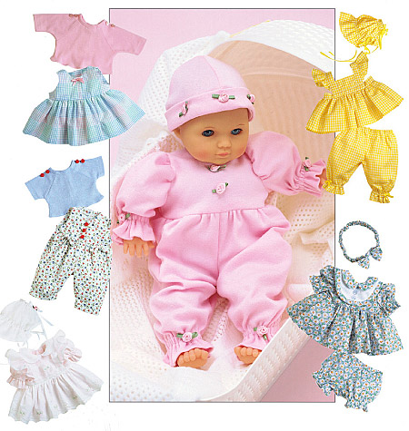 McCall's Doll Clothes Package 6233
