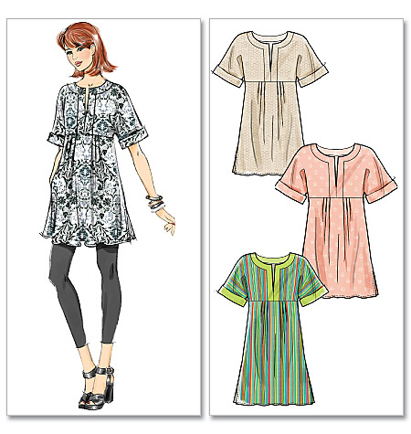 McCall's misses tunic and dress 6265