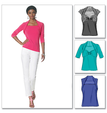 McCall's misses  knit top 6284