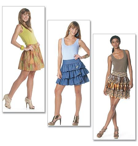 McCall's misses skirt 6289