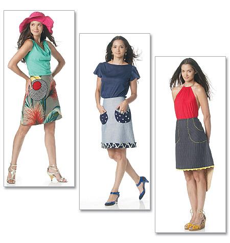 McCall's Misses Skirt 6290