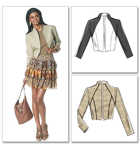McCall's misses lined jacket 6292
